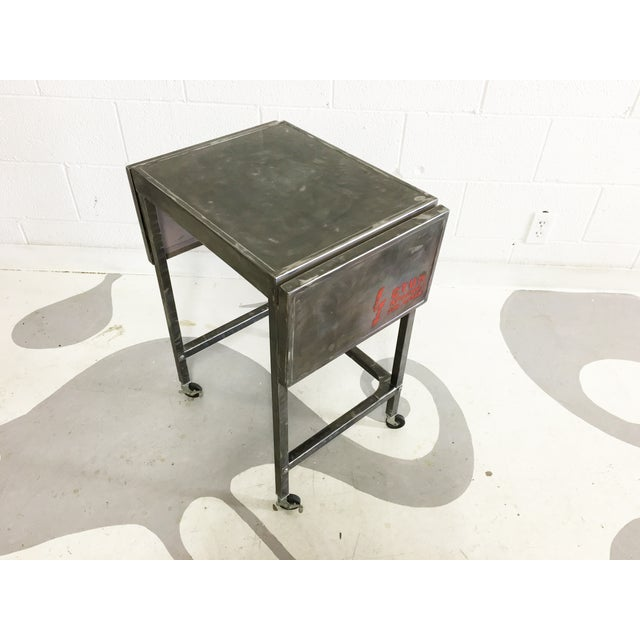 Industrial Metal Cart With Russian Industrial Sign - Image 6 of 6