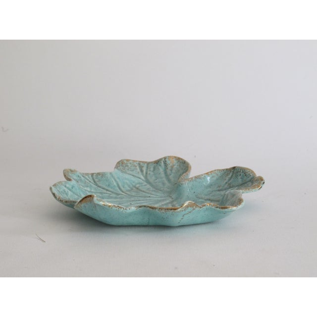 California Pottery Leaf Dish - Image 4 of 5