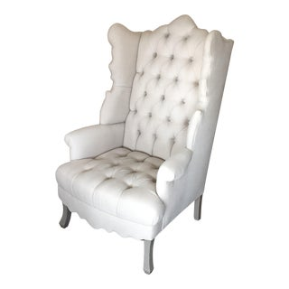 """Haute House """"Isabella"""" Wingback Chair"""