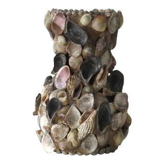 Vintage Sea Shell Vase