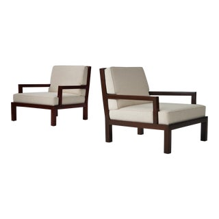 Rare Michael Taylor Custom Armchairs