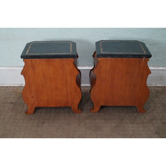 Quality Bombe Leather Wrapped Chests - Pair - Image 4 of 10
