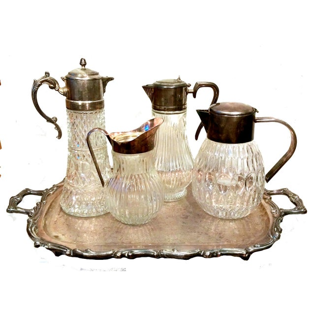 Italian Crystal & Glass Beverage Set - 14 Piece - Image 3 of 7