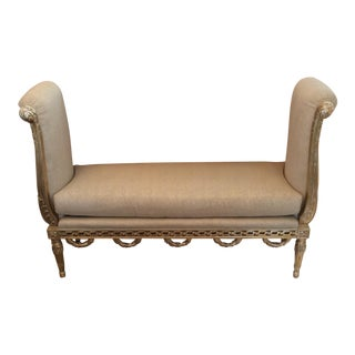 Vicente Wolf Nadine Gilt Bench