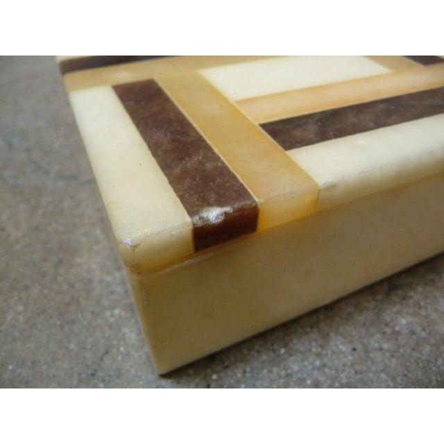 Vintage Italian Alabaster Box - Image 4 of 4