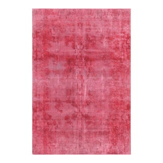"Pasargad Vintage Overdyed Wool Area Rug - 7' 7"" X 11' 8"""
