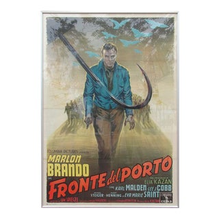 "An Oversized Framed Movie Poster - 1954 ""On the Waterfront"""