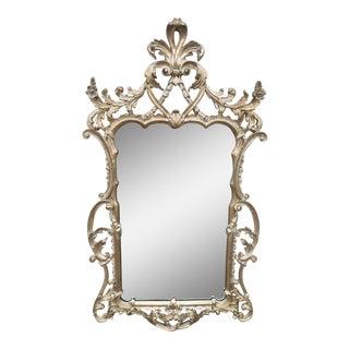 Silver Gilt Rococo Mirror