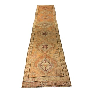 Bellwether Rugs Vintage Turkish Oushak Runner - 2′4″ × 10′10″