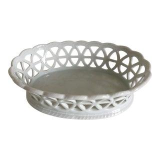 Furstenberg Porcelain Lacey Serving Basket