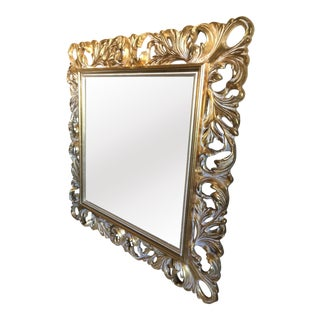 Italian Brass Wall Mirror