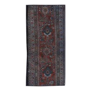 "Apadana - Vintage Overdyed Rug, 1'.9 x 8'3"""