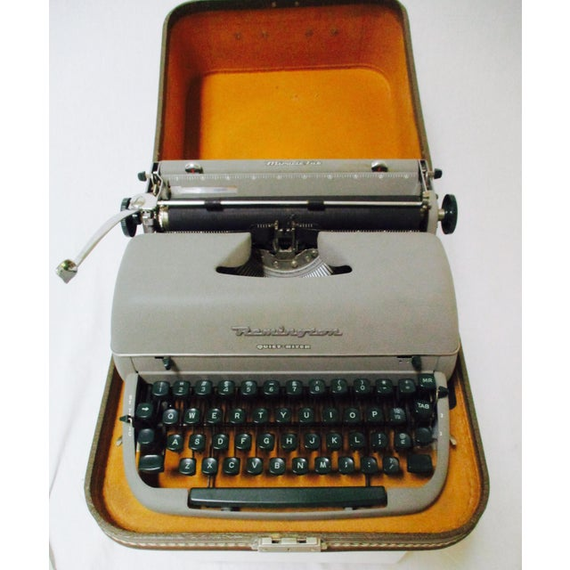 Vintage Remington Typewriter With Case - Image 2 of 9