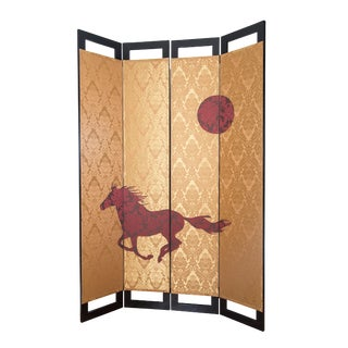 Wild Horse Room Divider