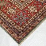 """Image of Leon Banilivi Super Kazak Carpet - 11'8"""" X 9'"""