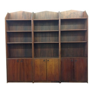Mid-Century Modern Display Cabinets -- Set of Three