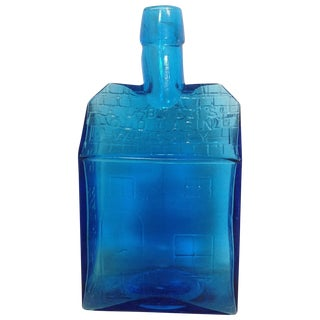 Blue Old Cabin Whiskey Bottle