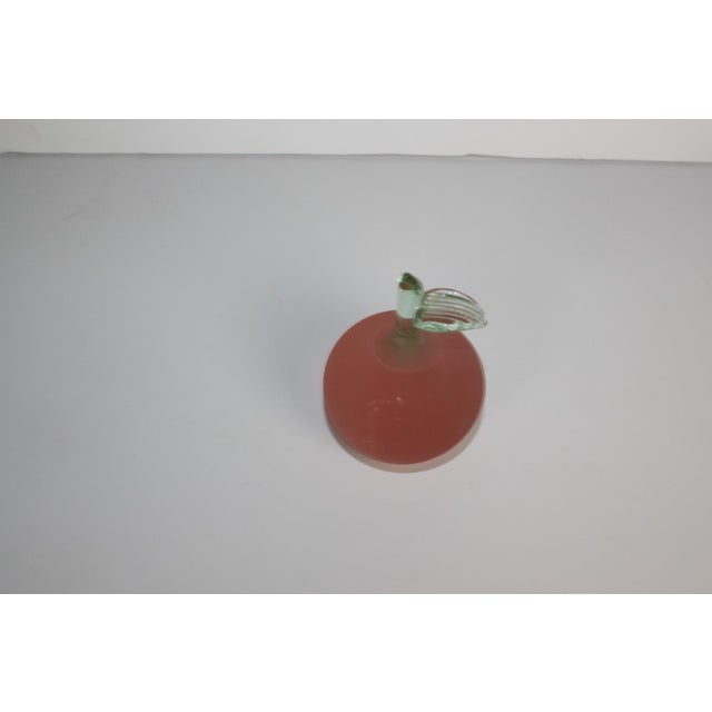 Image of Pink Glass Apple