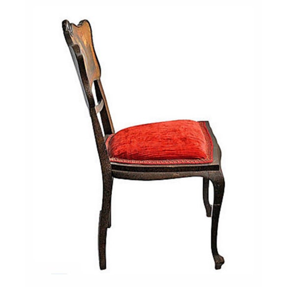 Hand Painted Chair Vintage - Image 6 of 7
