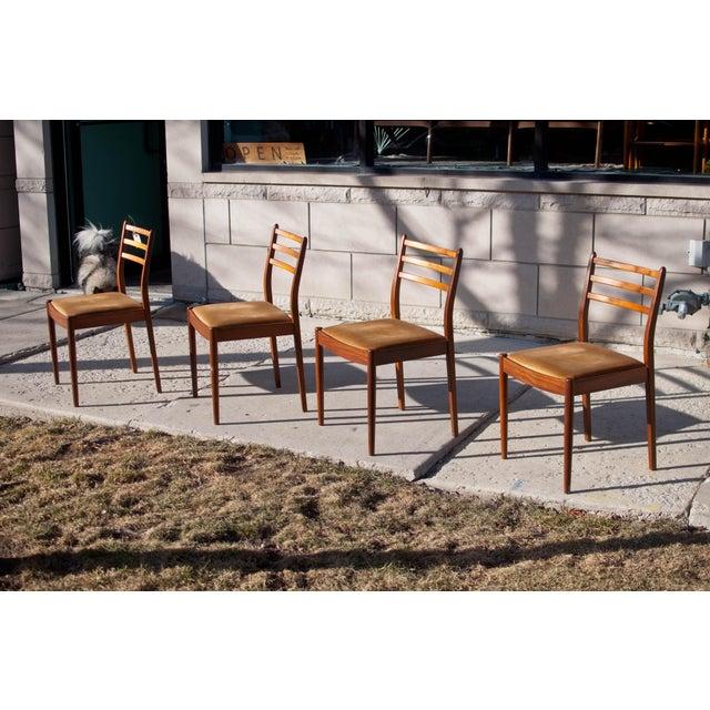 Danish Modern Dining Chairs, Kofod Larsen - 4 - Image 4 of 4