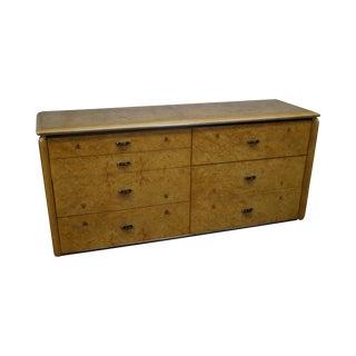 Lane Mid-Century Modern Burl Wood Dresser