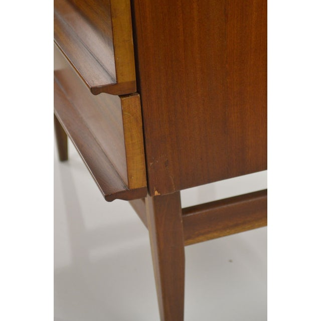 Modern Danish Style Teak Cabinet With Drop Front - Image 5 of 10