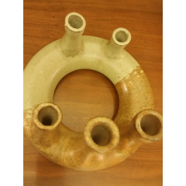 Image of Marcia Palmer Earthenware Pottery Candle Holders