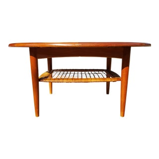Johannes Andersen Danish Mid Century Modern Teak Coffee Table