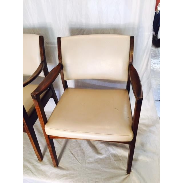 Vintage Mid-Century Johnson Chairs - A Pair - Image 3 of 6