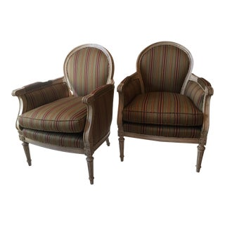 Henredon Custom Upholstered Chairs - A Pair