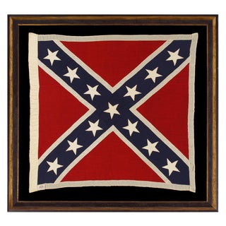 """CONFEDERATE SOUTHERN CROSS """"BATTLE FLAG"""""""