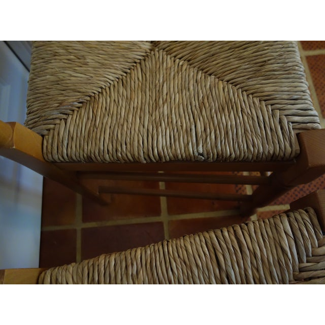 Ladderback Pine Chairs - Set of 4 - Image 7 of 8