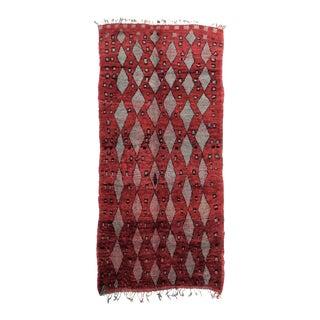 Vintage Moroccan Talsint Rug - 6′ × 11′7″