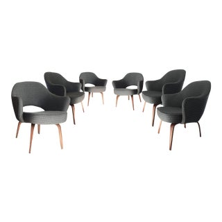 Eero Saarinen for Knoll Executive Chairs- Set of 6