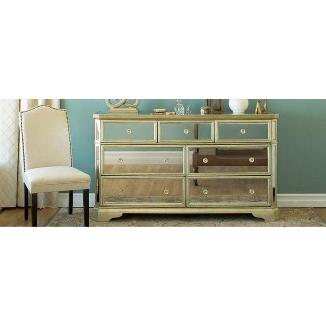 Borghese Mirrored Dresser - Image 2 of 2