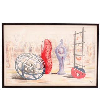 """Sculptural Objects"" Lithograph by Henry Moore 24/450"