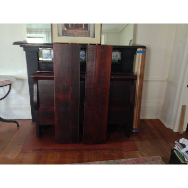 Antique Child's Sleigh Bed - Image 9 of 10