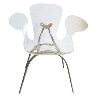 Modern Lucite Ghost Chair