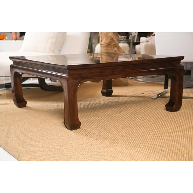 Mid-Century Coffee Table in the Style of Michael Taylor - Image 3 of 7