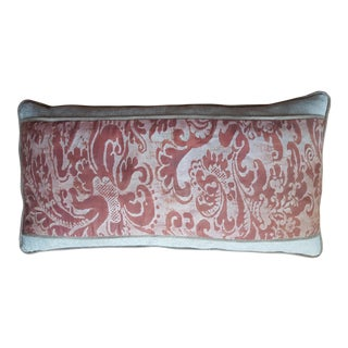 Mariano Fortuny Banded Pillow