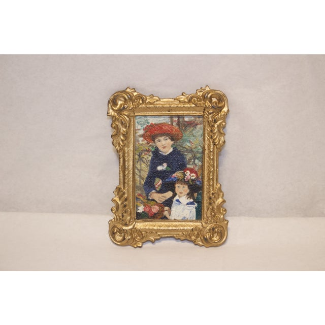 Image of Artist Hand Painted Renoir Style Broach