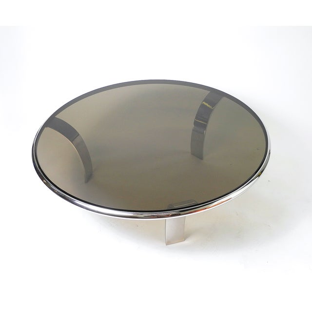 Gardner Leaver Smoked Glass Coffee Table - Image 3 of 7