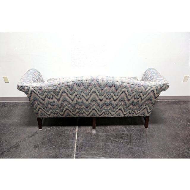 Chippendale Style Mahogany Camel Back Sofa Settee by Conover Chair Co - Image 5 of 11