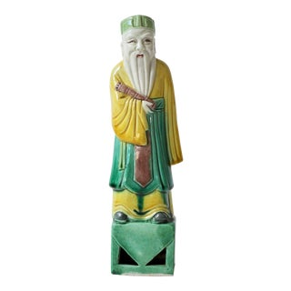 Ceramic Asian-Style Figure