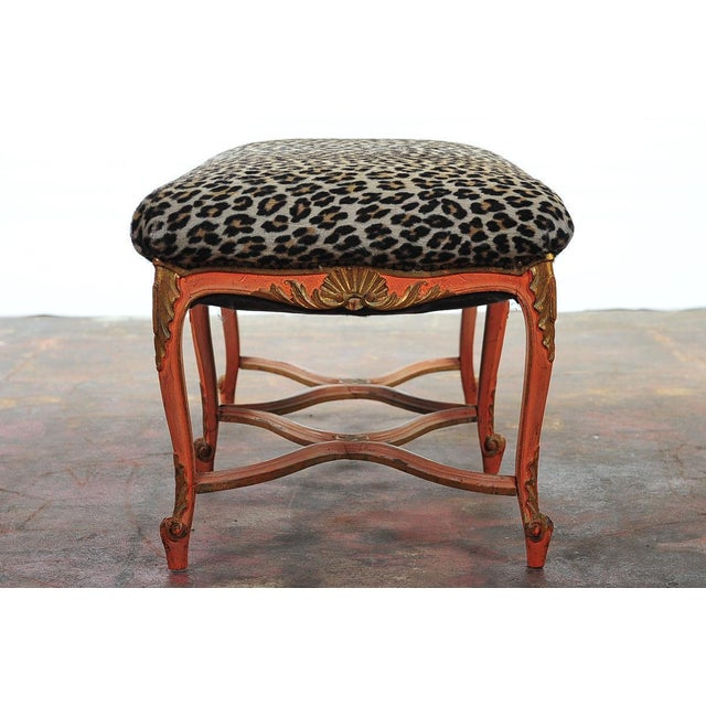 French 19th-Century Leopard Bench - Image 4 of 7