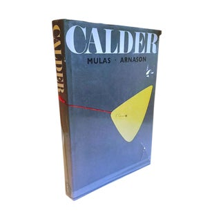 Mid Century Modern CALDER Coffee Table Book Art Photography Book