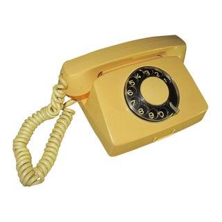 1970s Vintage Bulgarian Soviet Rotary Telephone