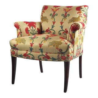 1920s Antique Upholstered Chair