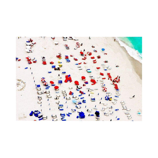 """Cheryl Maeder """"South Beach Red & Blue"""" Photograph - Image 1 of 1"""