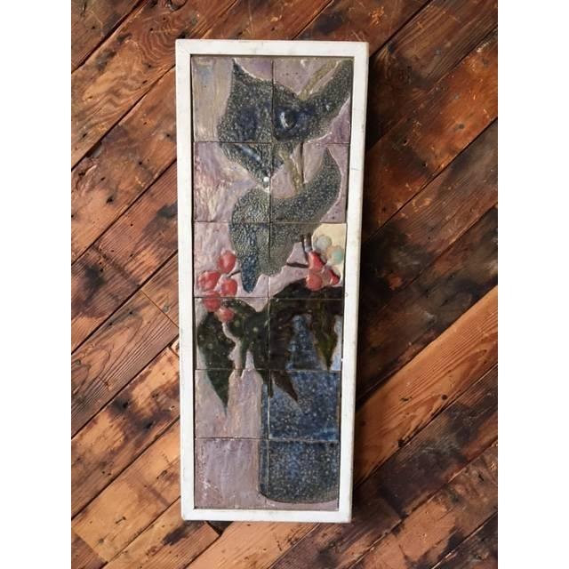 Image of Aj And Jack Ferrell Vintage Tile Art